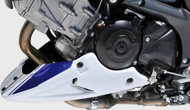 BODY STYLE ボディースタイル アンダーカウル Sportsline belly pan colour:white/blue(Pearl Glacier White、YWW/Pearl Vigor Blue、YKY)
