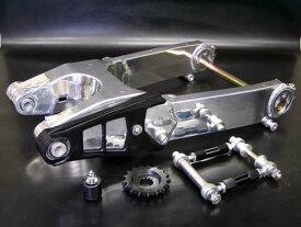 SPEC ENG. スペックエンジニアリング ZZR1100D流用スイングアーム安心セット スイングアーム色:バフ仕上げ/エキセントリックカラー:ゴールド GPZ750R NINJA [ニンジャ] GPZ900R NINJA [ニンジャ] KAWASAKI カワサキ KAWASAKI カワサキ