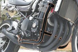 PMC ピーエムシー サブフレーム シュラウド・パイプキット カラー:ブラックペイント Z900RS