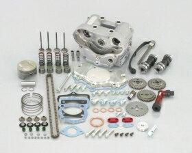 キタコ KITACO ボアアップキット・シリンダー バージョンアップキット (SE125cc→DOHC125cc) CRF100F XR100R(競技用) XR100モタード エイプ100 エイプ100 タイプD