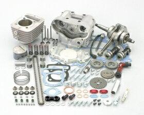 キタコ KITACO ボアアップキット・シリンダー DOHCショートストロークキット (100cc) CRF100F XR100R(競技用) XR100モタード エイプ100 エイプ100 タイプD