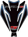 MOTOGRAFIX モトグラフィックス タンクパッド カラー:ブラック/ブルー GSX-S1000