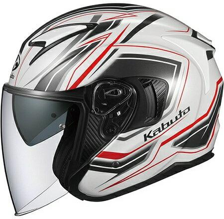 【在庫あり】OGK KABUTO オージーケーカブト ジェットヘルメット EXCEED CLAW [エクシード クロー パールホワイト] ヘルメット サイズ:M