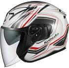 OGKKABUTOオージーケーカブトジェットヘルメットEXCEEDCLAW[エクシードクローパールホワイト]ヘルメットサイズ:XS