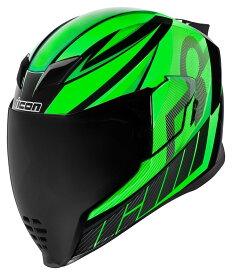 ICON アイコン フルフェイスヘルメット HELMET AIRFLITE QB1 [エアフライト ヘルメット] サイズ:LG(59-60cm)