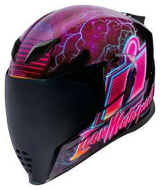 ICON アイコン フルフェイスヘルメット HELMET AIRFLITE SYNTHWAVE [エアフライト ヘルメット] サイズ:LG(59-60cm)