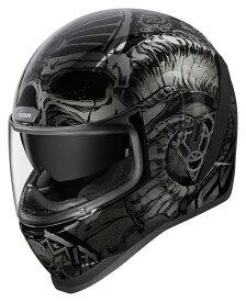 ICON アイコン フルフェイスヘルメット HELMET AIRFORM SACROSANCT [エアフォーム ヘルメット] サイズ:XL(61-62cm)