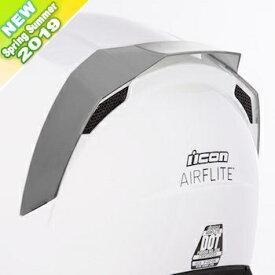 ICON アイコン 【ヘルメット・オプションパーツ】 REAR SPOILER AIRFLITE [リアスポイラー エアフライト] AIRFLITE