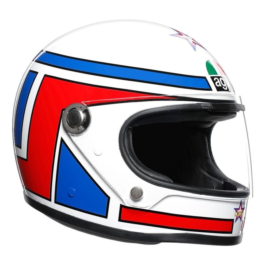 AGV エージーブイ フルフェイスヘルメット X3000 レジェンズ ヘルメット (LEGENDS JIST REPLICA) サイズ:M(57-58cm)