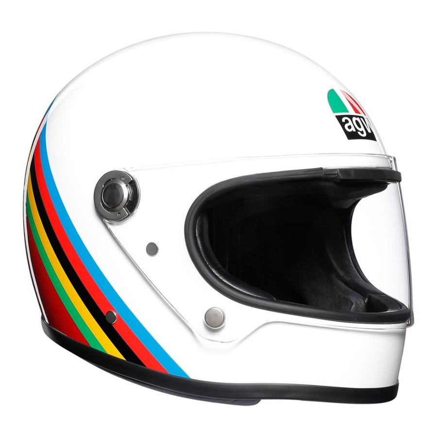 AGV エージーブイ フルフェイスヘルメット X3000 レジェンズ ヘルメット (LEGENDS JIST MULTI) サイズ:L(59cm)