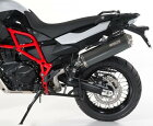 BOSボススリップオンマフラーOval120Slip-onタイプ:carbonsteelF650GS08-