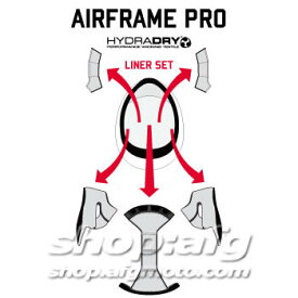 ICON アイコン 【ヘルメット・オプションパーツ】LINER SET LOOSER [ライナーセット・ルーザー] AIRFRAME PRO