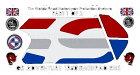 MOTOGRAFIXモトグラフィックスステッカー・デカールボディパッド貼り付け位置:右側R1250GSAdventure