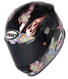 SUOMY スオーミー フルフェイスヘルメット SR-SPORT フラワー ヘルメット サイズ:M(57-58cm)