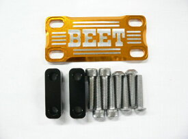 BEET ビート その他ハンドルパーツ 汎用ハンドルブレースキット カラー:ブラック/ゴールド