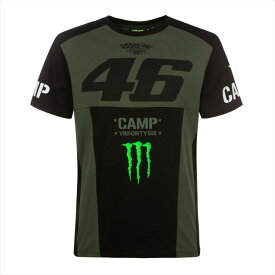 VR46 ブイアール46 46 MONSTER CAMP T-SHIRT
