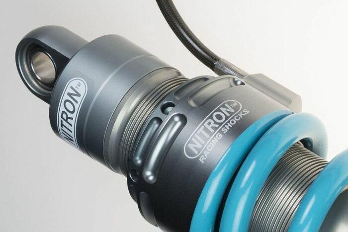NITRONナイトロンリアサスペンションモノショックADVENTURER1シリーズカラー:タイタニウムブラックスプリングCRF1000LAfricaTwin