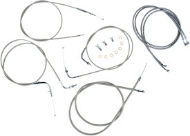 "BARON バロン ケーブル ラインキット 18""XVS1100CU 【CBL LINE KT 18""XVS1100CU [0650-1027]】 XVS1100 V-Star Custom"
