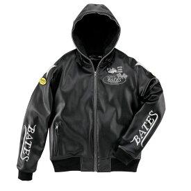 BATES ベイツ ウインタージャケット 合成皮革パーカジャケット サイズ:XXL