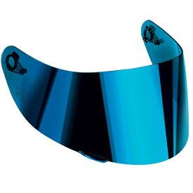 【在庫あり】シールド・バイザー GT2(GT2-1) バイザー スクラッチレジスタント [GT2(GT2-1) VISOR SCRATCH RESISTANT] カラー:004-イリジウムブルー(IRIDIUM BLUE) サイズ:ML-L-XL-XXL