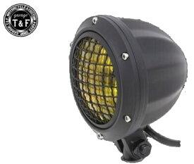 ガレージT&F 4インチビレットヘッドライト&ステーセット タイプA マグナ250 マグナ250
