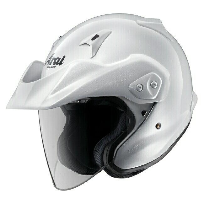 Arai アライ ジェットヘルメット CT-Z [シーティーゼット グラスホワイト] ヘルメット サイズ:L(59-60cm)