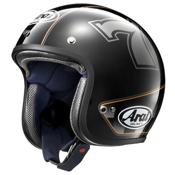 Arai アライ ジェットヘルメット CLASSIC-MOD CAFE RACER [クラシックモッド カフェレーサー ブラック] ヘルメット サイズ:S