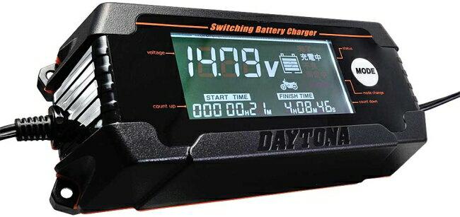 【在庫あり】【イベント開催中!】 DAYTONA デイトナ 充電器 ディスプレイバッテリーチャージャー