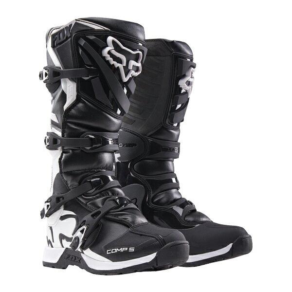 【在庫あり】【イベント開催中!】 FOX フォックス オフロードブーツ COMP5ブーツ BLACK サイズ:8 (26.0cm)