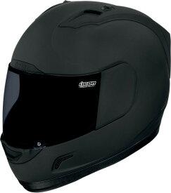 【在庫あり】ICON アイコン フルフェイスヘルメット ALLIANCE DARK HELMET [アライアンス・ダーク・ヘルメット]【BLACK RUBATONE】 サイズ:L(59-60cm)