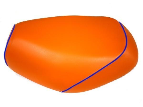 GRONDEMENT グロンドマン その他シートパーツ 国産シートカバー 張替タイプ カラー:オレンジ/青パイピング アドレスV125