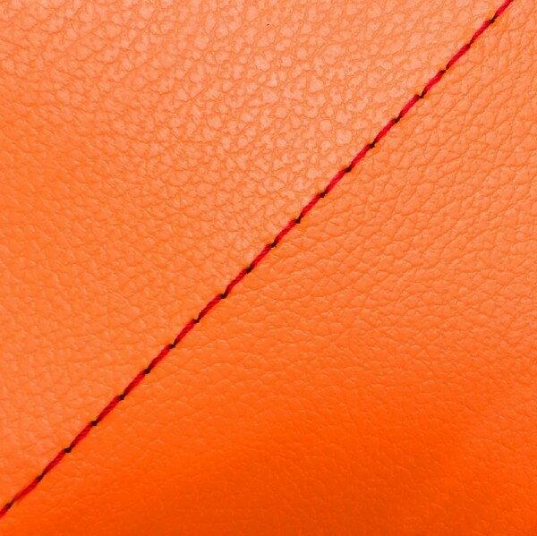 GRONDEMENT グロンドマン その他シートパーツ 国産シートカバー 張替タイプ カラー:オレンジ/赤ステッチ アドレス V125 G (CF46) アドレス V125 G (CF4E)