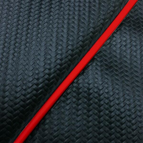 GRONDEMENT グロンドマン その他シートパーツ 国産シートカバー 被せタイプ カラー:カーボンブラック/赤パイピング アドレスV125