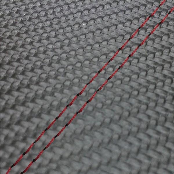 GRONDEMENT グロンドマン その他シートパーツ 国産シートカバー 張替タイプ カラー:カーボンブラック/赤ダブルステッチ アドレス V125 G (CF46) アドレス V125 G (CF4E)