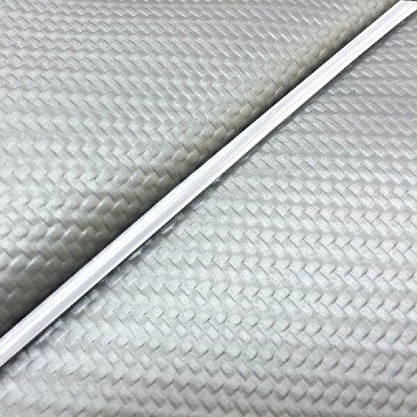 GRONDEMENT グロンドマン その他シートパーツ 国産シートカバー 張替タイプ カラー:カーボンシルバー/白パイピング アドレス V125 G (CF46) アドレス V125 G (CF4E)