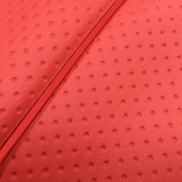 GRONDEMENT グロンドマン その他シートパーツ 国産シートカバー 張替タイプ カラー:フルエンボスレッド/赤パイピング アドレスV125