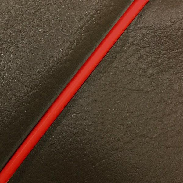 GRONDEMENT グロンドマン その他シートパーツ 国産シートカバー 被せタイプ カラー:ダークブラウン/赤パイピング アドレス V125 G (CF46) アドレス V125 G (CF4E)