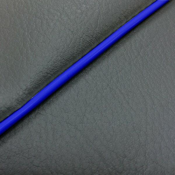 GRONDEMENT グロンドマン その他シートパーツ 国産シートカバー 被せタイプ カラー:ダークグレー/青パイピング アドレス V125 G (CF46) アドレス V125 G (CF4E)