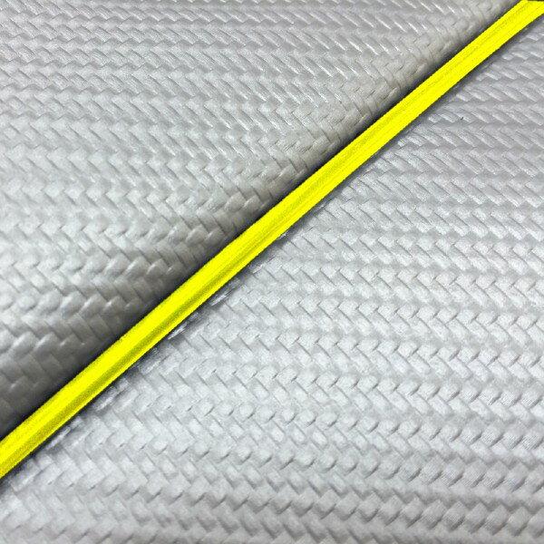 GRONDEMENT グロンドマン その他シートパーツ 国産シートカバー 張替タイプ カラー:カーボンシルバー/黄色パイピング アドレスV125