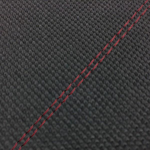GRONDEMENT グロンドマン その他シートパーツ 国産シートカバー 張替タイプ カラー:スベラーヌブラック/赤ダブルステッチ アドレスV125