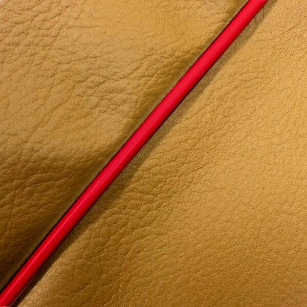 GRONDEMENT グロンドマン その他シートパーツ 国産シートカバー 張替タイプ カラー:黄土色/赤パイピング アドレスV125