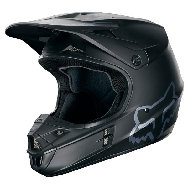 【イベント開催中!】 FOX フォックス オフロードヘルメット V1ヘルメット MAT BLK サイズ:S