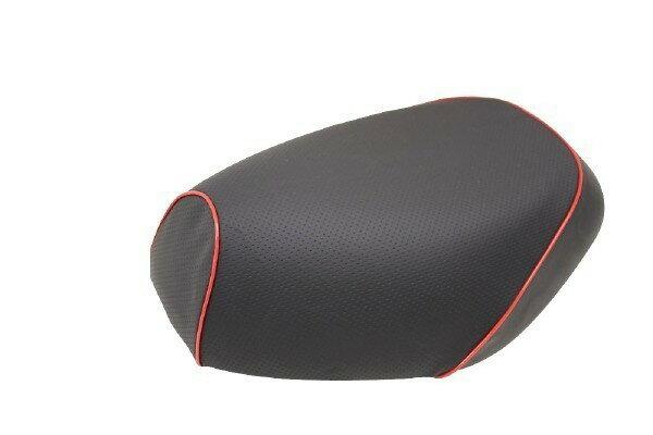 GRONDEMENT グロンドマン その他シートパーツ 国産シートカバー 張替タイプ カラー:エンボス(黒)/赤パイピング アドレス V125 G (CF46) アドレス V125 G (CF4E)