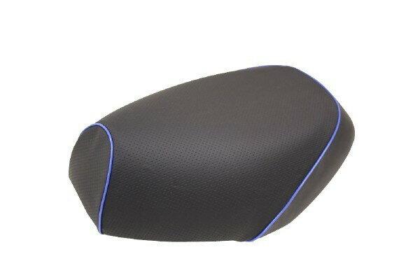 GRONDEMENT グロンドマン その他シートパーツ 国産シートカバー 張替タイプ カラー:エンボス(黒)/青パイピング アドレス V125 G (CF46) アドレス V125 G (CF4E)