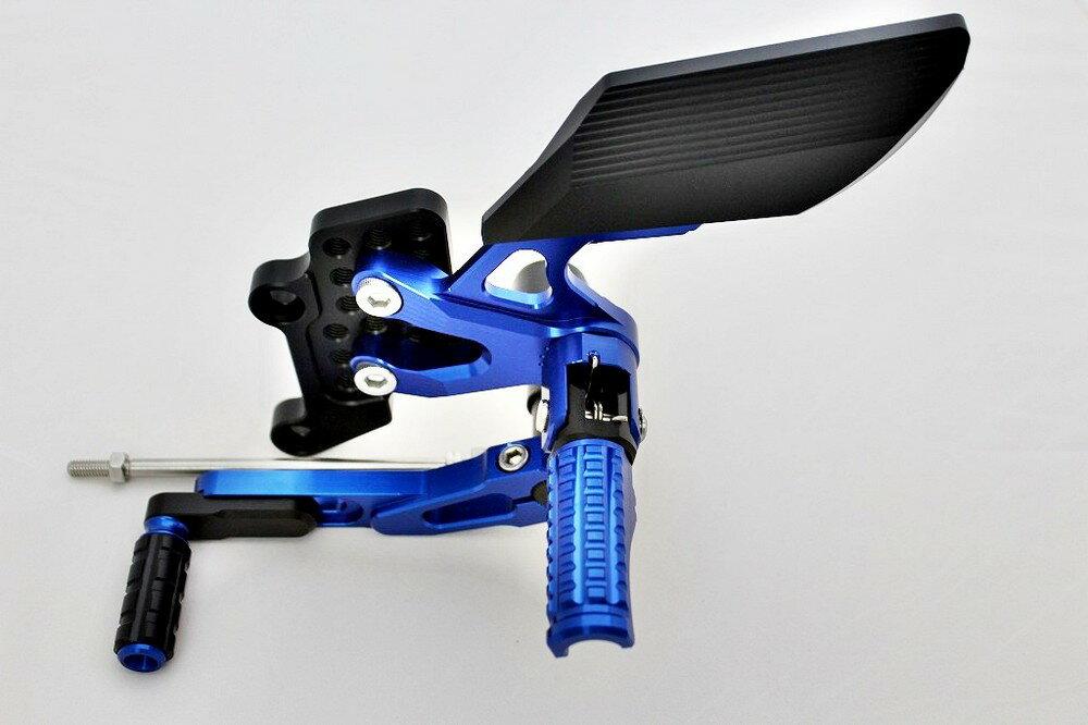 【在庫あり】BIKERS バイカーズ バックステップ カラー:ブルー MT-03 MT-25 YZF-R25 YZF-R3