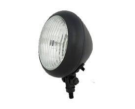 Neofactory ネオファクトリー ヘッドライト本体・ライトリム/ケース 4-1/2インチ クラシックラウンドヘッドライト カラー:マットブラック 汎用