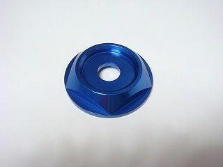 【在庫あり】KN企画 ケイエヌキカク 汎用外装部品・ドレスアップパーツ 純正リヤホイール用 アルミセンターカラー カラー:ブルー アドレスV125 CF46A(K1-K8)
