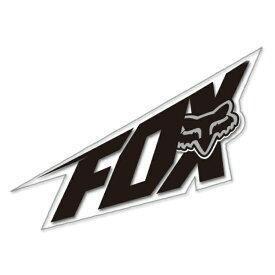 【在庫あり】【イベント開催中!】 FOX フォックス ステッカー・デカール SUPERFAST [スーパーファースト] ステッカー カラー:ブラック