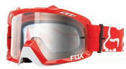 【イベント開催中!】 FOX フォックス AIR DEFENCEゴーグル RACE RED/CLR