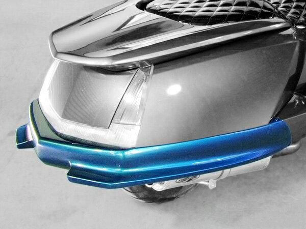 WARRIORZ ウォーリアーズ スクーター外装 マグザム用 リアバンパースポイラー タイプG カラー:ブラックメタリックX MAXAM [マグザム] (SG17J/SG21J)